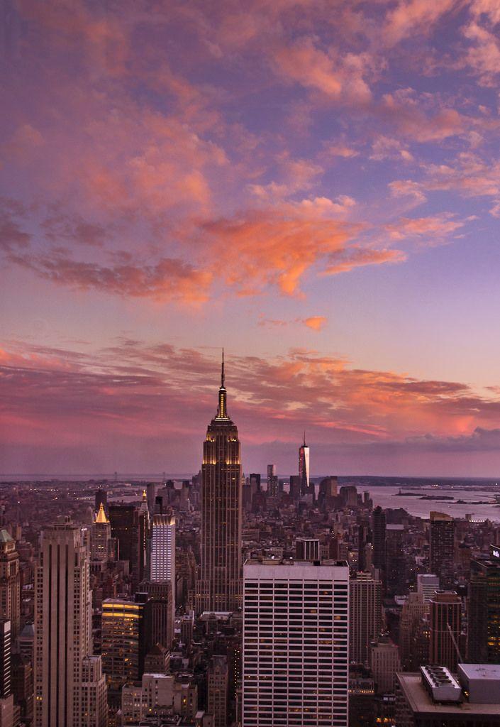 New York City New York Wallpaper City Aesthetic Sky Aesthetic
