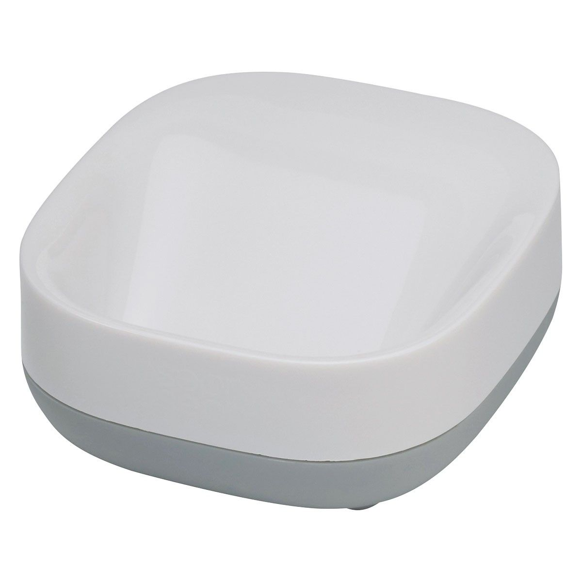 Joseph Joseph Slim White Grey Soap Dish Bathroom Accessories Stylish Bathroom