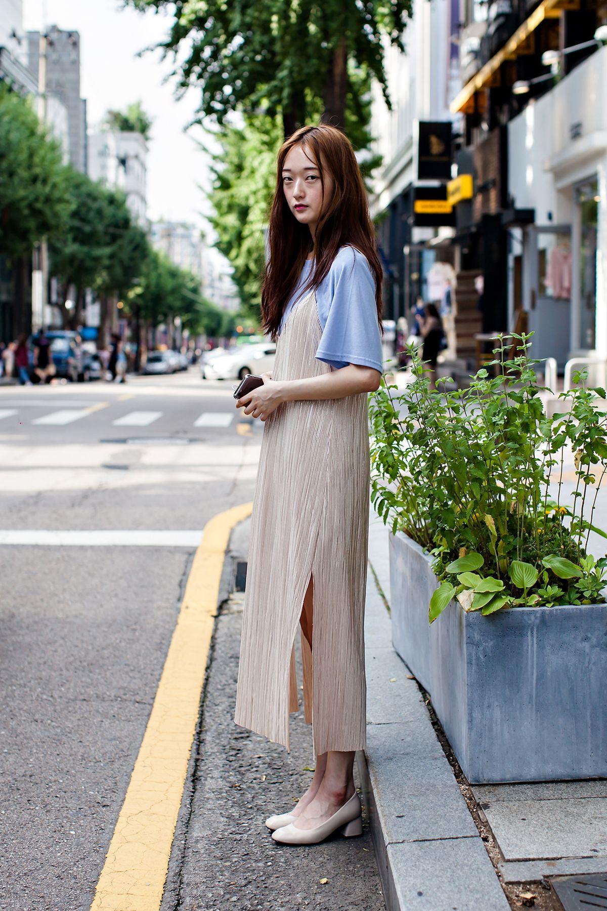 Top Lartigent Dress Zara Street Style Yoon Yujung Seoul Street Womenstyle Pinterest
