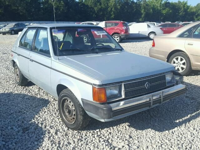 1b3bz18d6jy189642 1988 Blue Dodge Omni Expo On Sale In Memphis Tn Lot Dodge Car Auctions Memphis