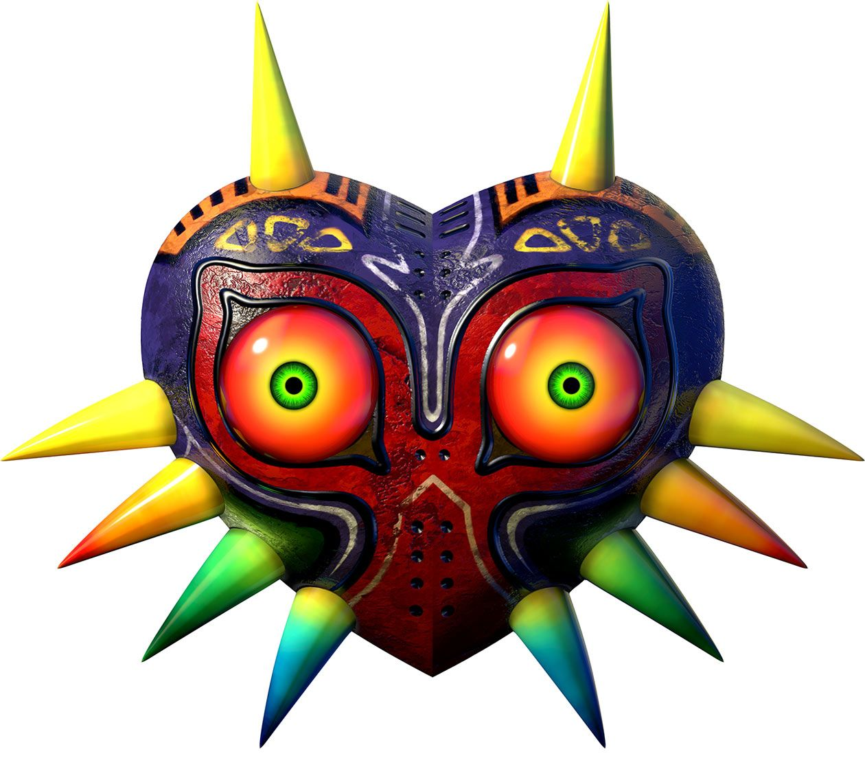 The original full color Majora\'s Mask | Tatts | Pinterest | Lienzos ...