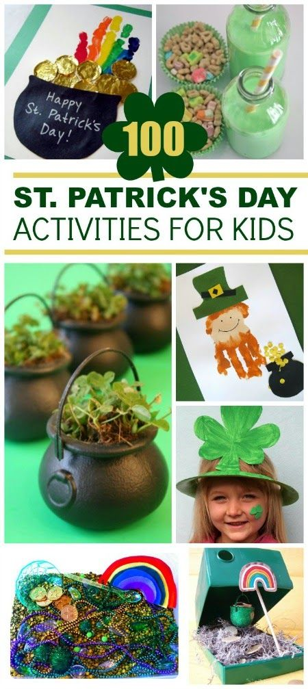 St Patrick S Day Crafts St Patrick Day Activities St
