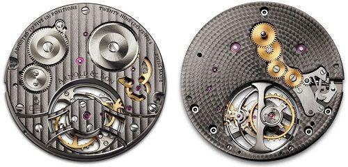 bộ máy đồng hồ Tourbillon mỏng nhất thế giới