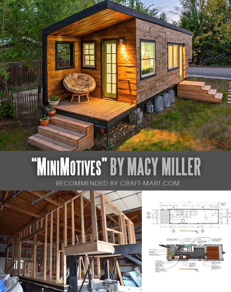 17 Best Custom Tiny House Trailers And Kits With Plans For Super Tight Budget Craft Mart Tiny House Trailer Tiny House Cabin Tiny House Layout