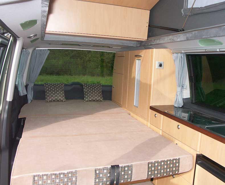 VW T4 Transporter Motorhome Camper Van MDF Kitchen Cupboard Unit Pod
