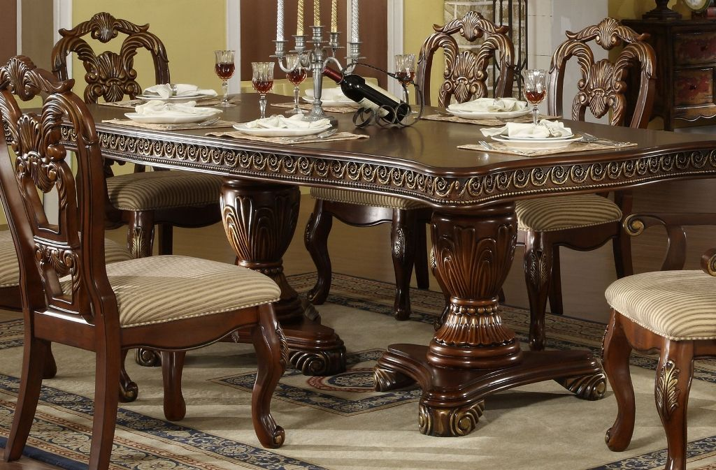 Furniture: Pretty Formal Dining Room Table Chairs Also Modern Formal Dining  Room Set In Antique