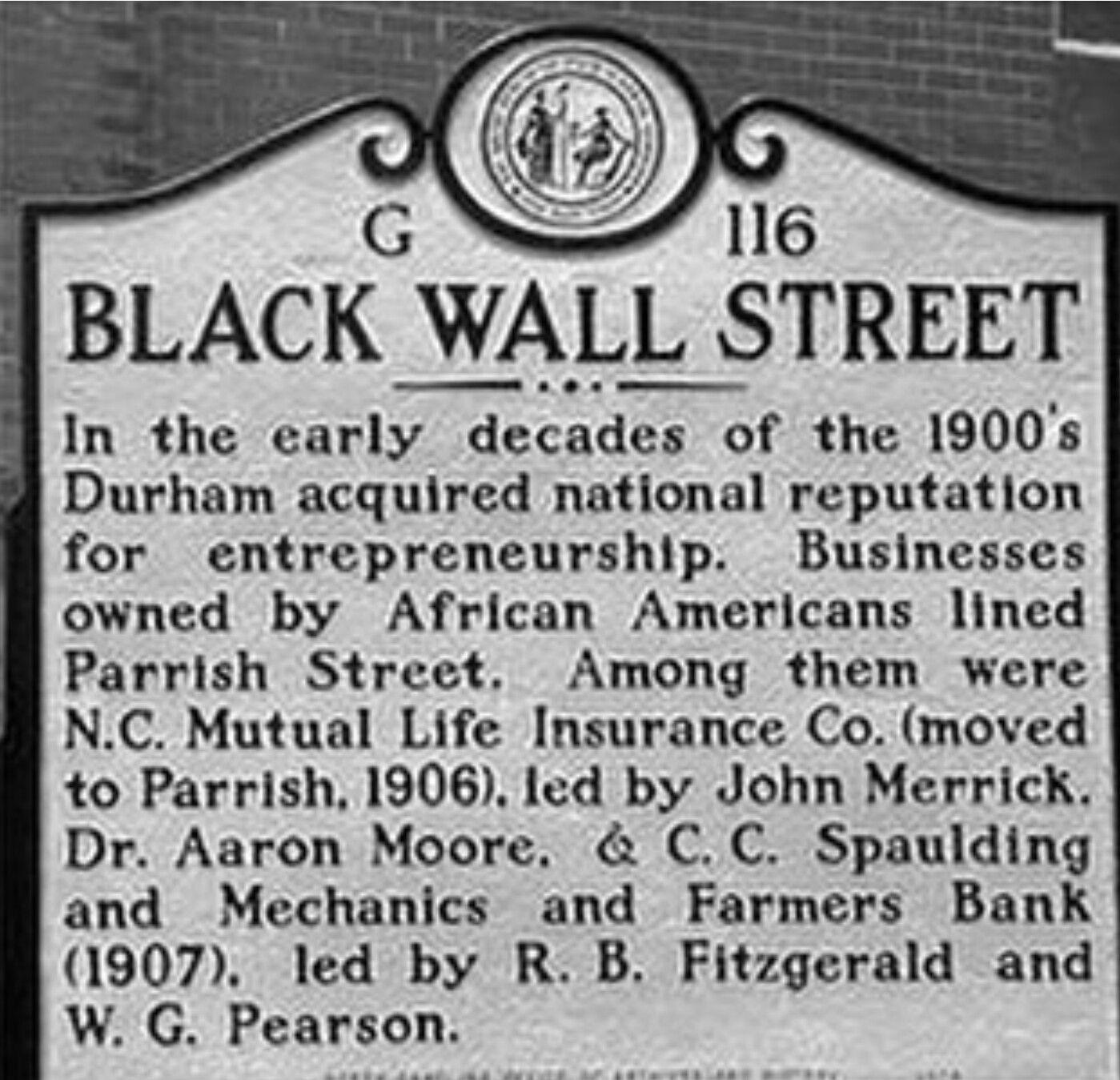 Pin by ken on black history black wall street north