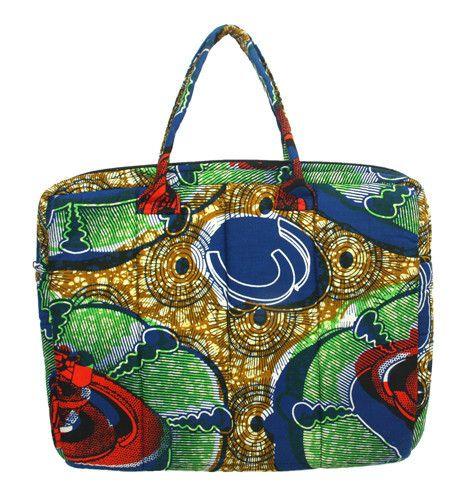 Rwandan handmade multicolored bag