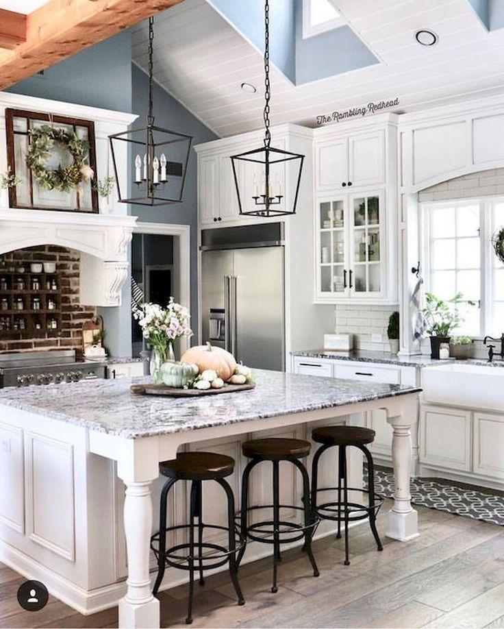 Kitchen Remodel Ideas 2019: 40 Best Modern Farmhouse Kitchen Decor Ideas And Design