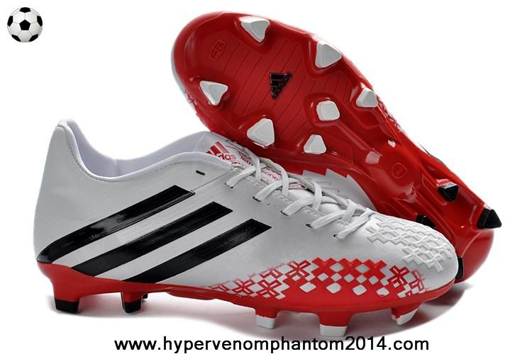 Me sorprendió Estoy orgulloso Narabar  Cheap White Red 2013 adidas Predator FG 2014 Boots | Red sport shoes, Adidas  soccer shoes, Football shoes