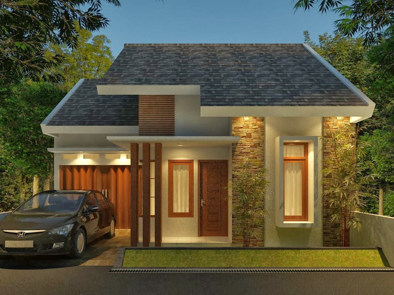 Model rumah minimalis modern best home desaign and hd for Design minimalis modern