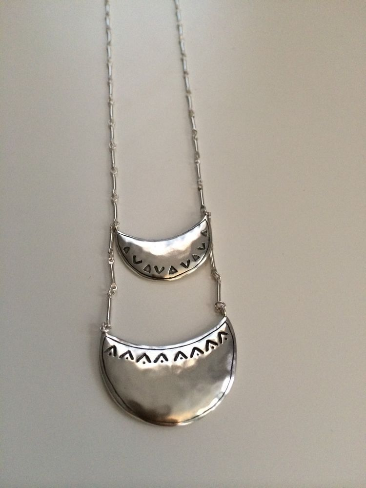 """Silpada Sterling Silver """"Celestial Chic"""" Necklace - N2853 - Retail $129"""