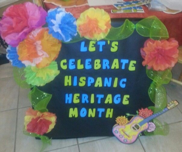 Hispanic heritage decoration