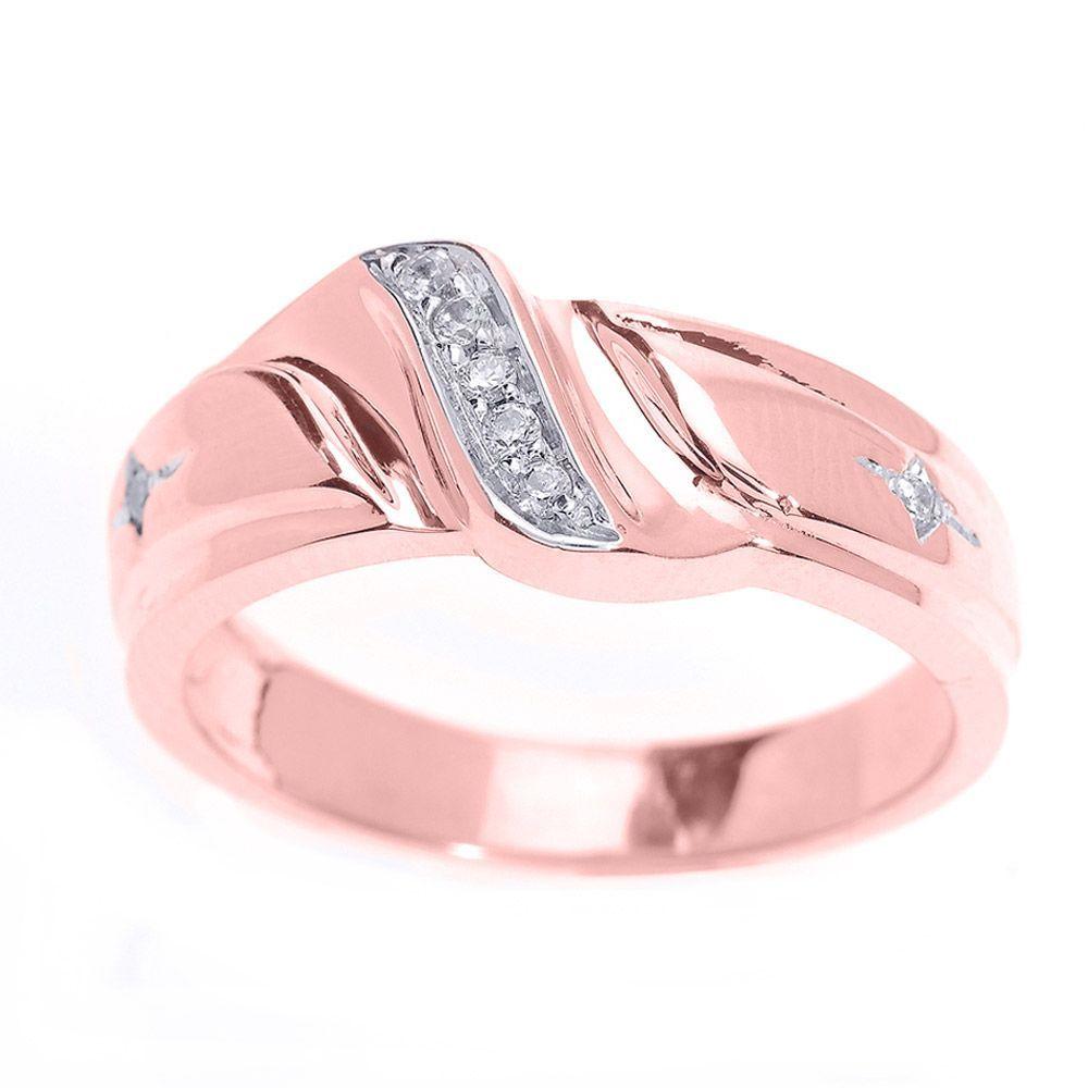 15 Beautiful Mens Diamond Wedding Rings