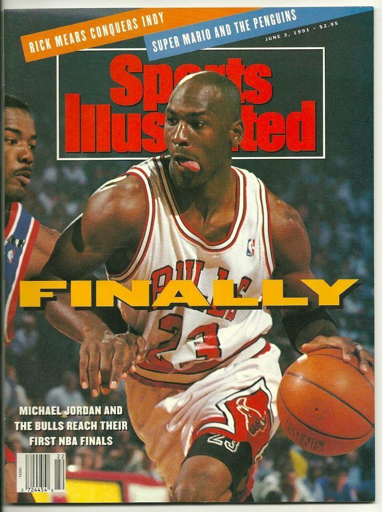June 3,1991 MICHAEL JORDAN SI Sports illustrated covers
