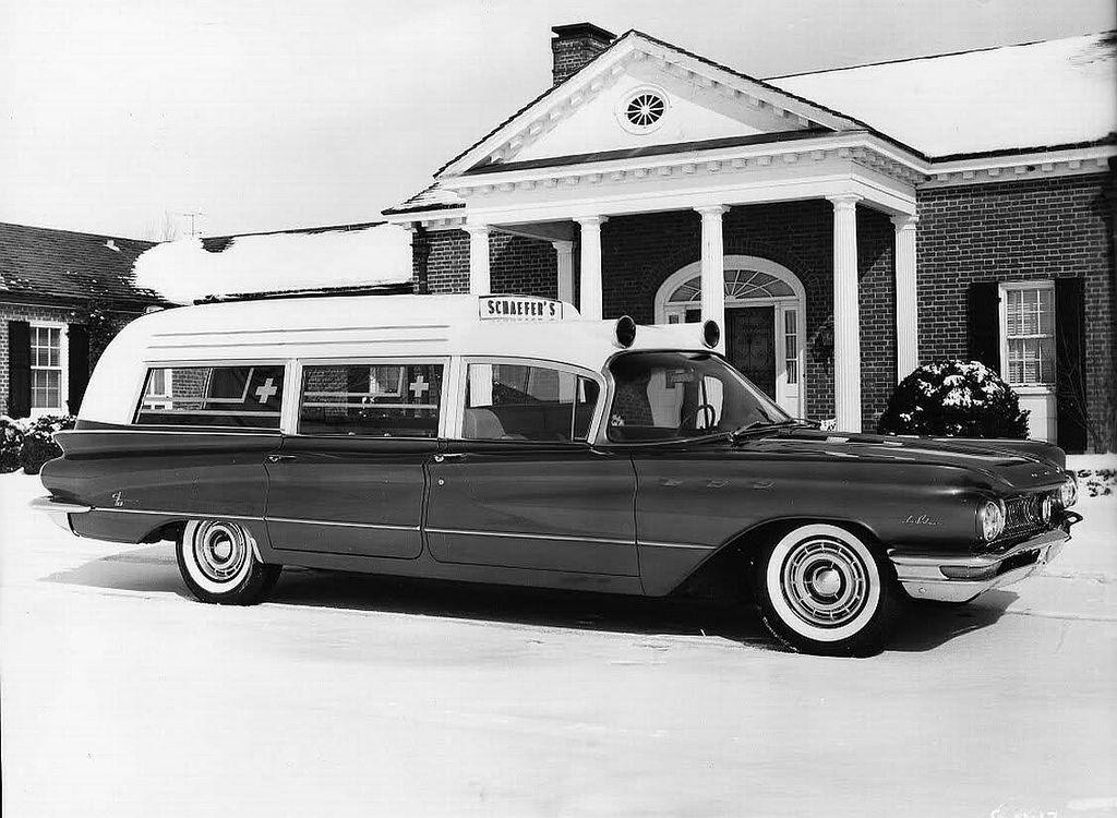 1960 buick ambulance by cotner bevington ambulances