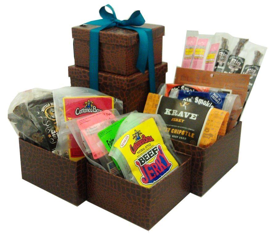 Ultimate Tower of Jerky Gift Set | Armadillo Pepper | Jerky Gift ...