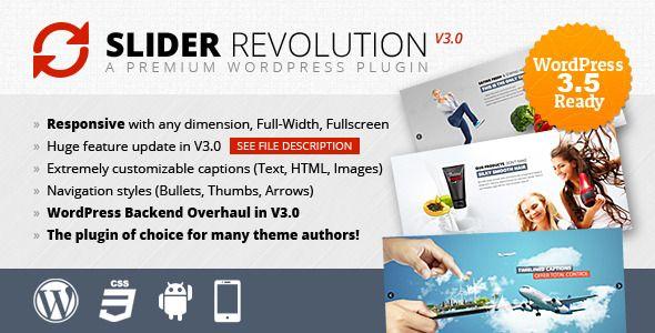 Slider Revolution Responsive WordPress Plugin - CodeCanyon Item for ...