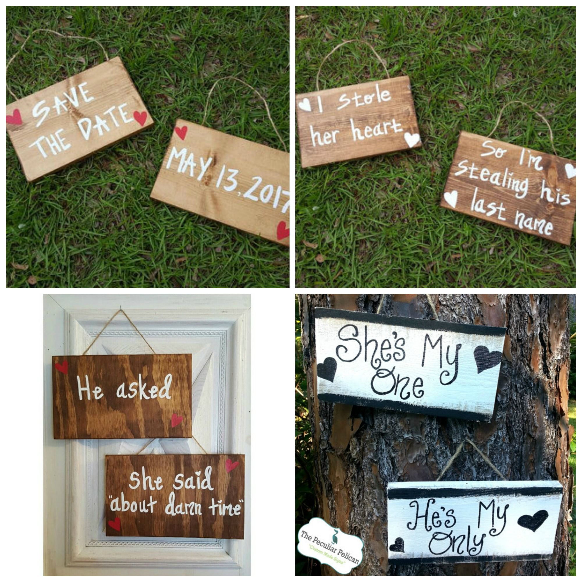 They Didn/'t Trust Me With The Rings! Wooden Shabby Chic White Wedding Sign