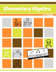 Elementary Algebra    #textbooks #books #ebooks #algebra #math #education    eBook $24.95