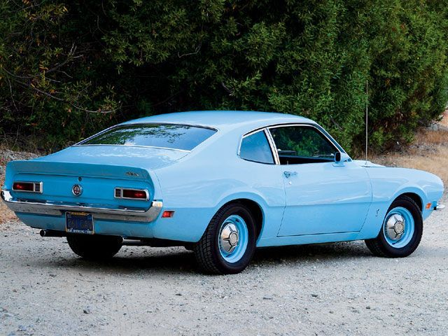 1972 Baby Blue Ford Maverick Our Family Car Was The Same Color