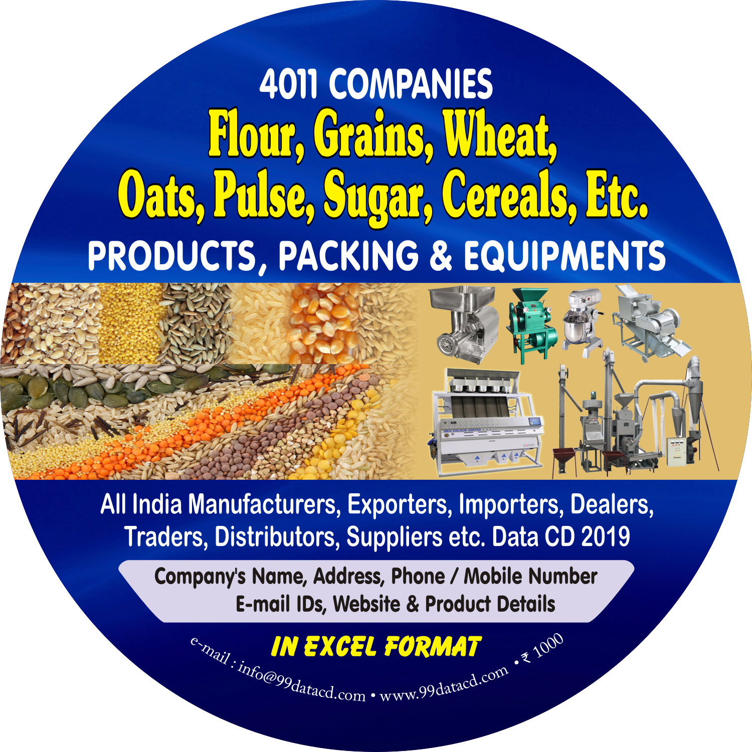 Purchase online complete & accurate b2b data related to flour