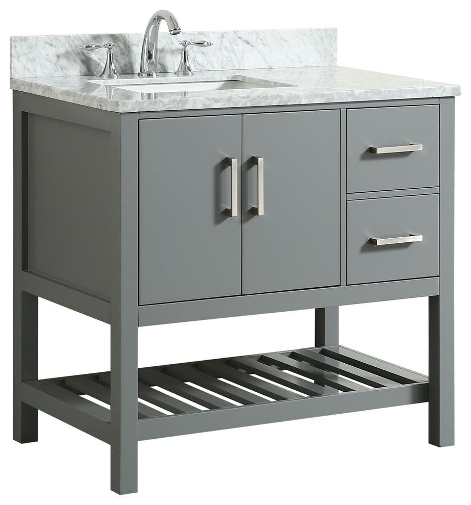 Houzz Left Offset Vanity Replace Pedestal Sink With This And Put