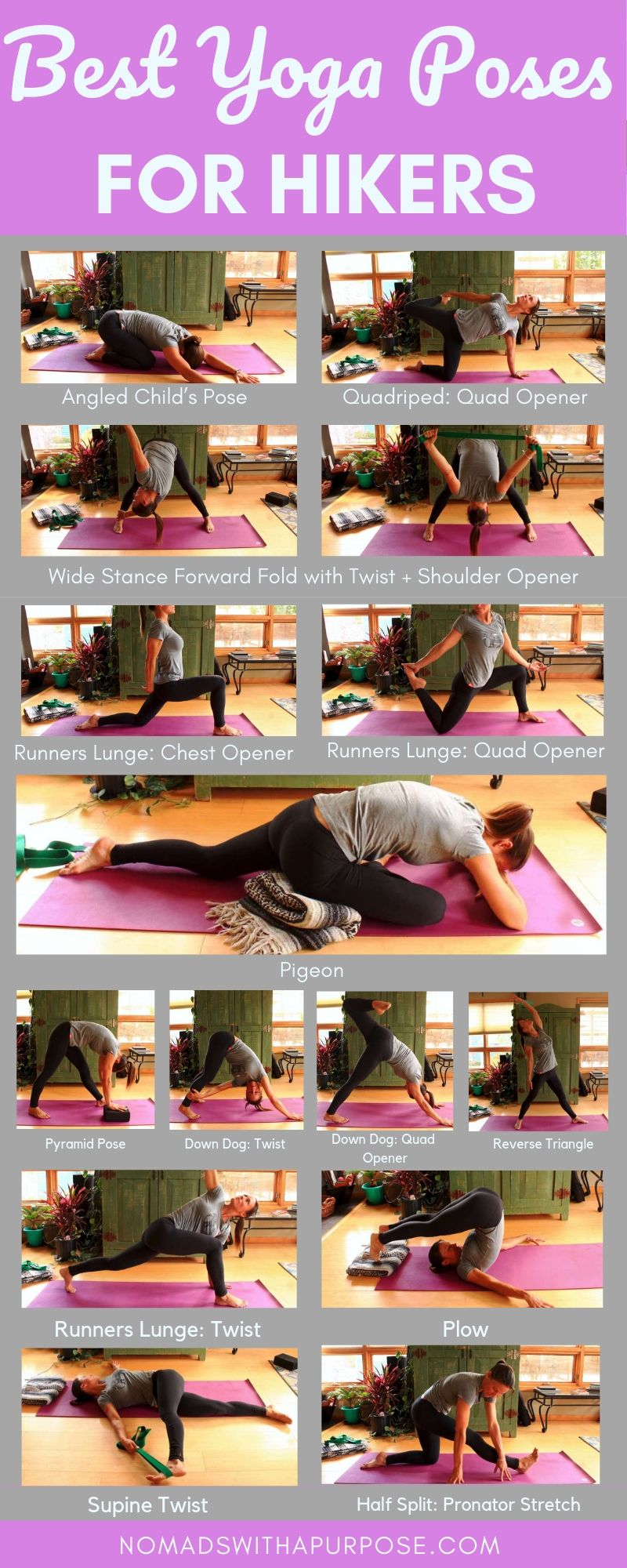 Photo of Best Yoga Poses For Hikers