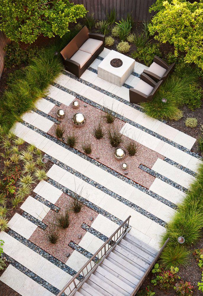 sensational design contemporary landscaping ideas. Garden Geometries  Line House LandscapeBackyard Landscape DesignLandscape pavers Gardens and Backyard