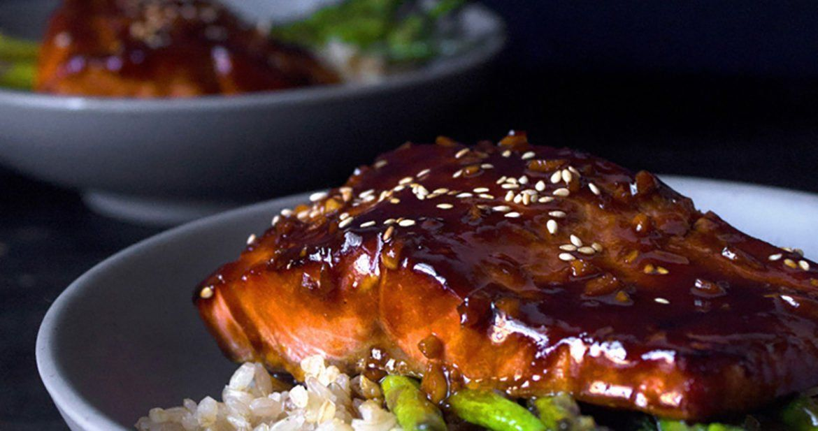 Teriyaki Salmon Bowl with Sautéed Asparagus #teriyakisalmon Simple Teriyaki Salmon Bowl - Wife Mama Foodie #teriyakisalmon Teriyaki Salmon Bowl with Sautéed Asparagus #teriyakisalmon Simple Teriyaki Salmon Bowl - Wife Mama Foodie #teriyakisalmon