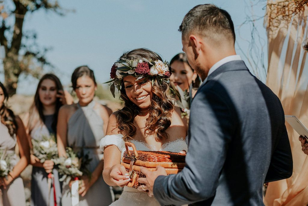 This California Wedding is All About the Details