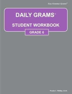 Daily Grams Grade 6 Workbook Easy Grammar Dictionary Skills