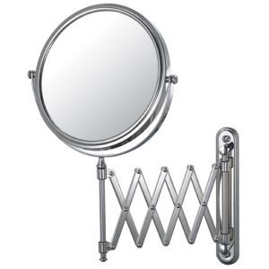 Superbe Wall Mounted Extension Arm 5X Magnifying Mirror, 7