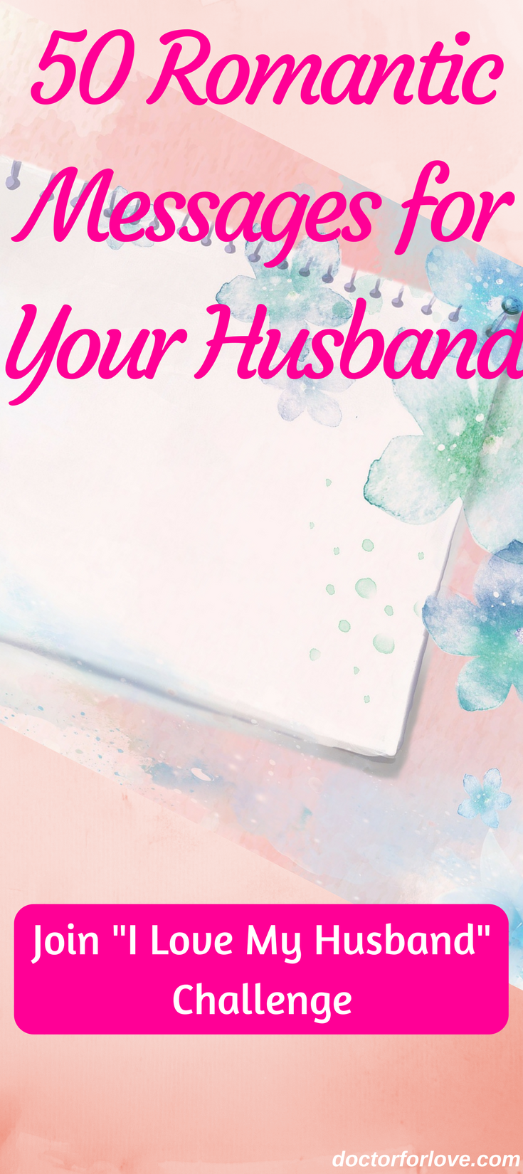romantic messages for my husband 50 days challenge
