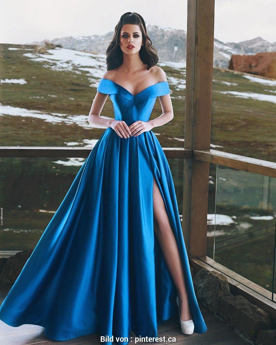 günstige abendkleider - Top Modische Kleider  Abendkleid, Blaues