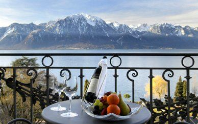 Lake Geneva, Switzerland.