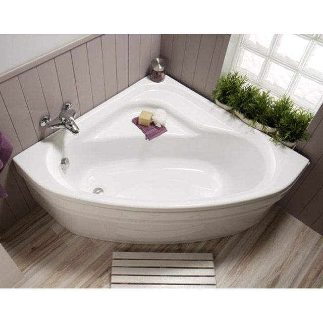 baignoire d 39 angle 120 x 120 cm niagara castorama salle. Black Bedroom Furniture Sets. Home Design Ideas
