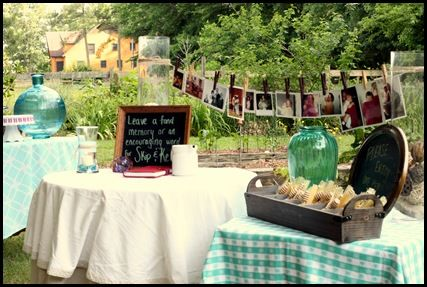 outdoor anniversary party   There Is Always A Reason To Celebrate   Pinterest   Anniversary ...