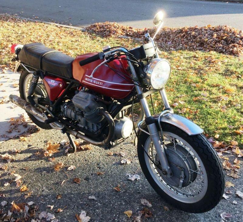 1973 Moto Guzzi V7 Sport Cafe Racer Motorcycle Very Rare Custom Cafe Racer Motorcycles For Sale Custom Cafe Racer Cafe Racer For Sale Cafe Racer Motorcycle