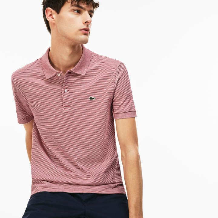 aed731f6a7 Lacoste Men's Regular Fit Mini Pique Polo | Products | Pique polo ...