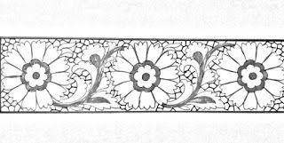 Draw Online Embroidery Saree Border Pencil Sketch Saree Border