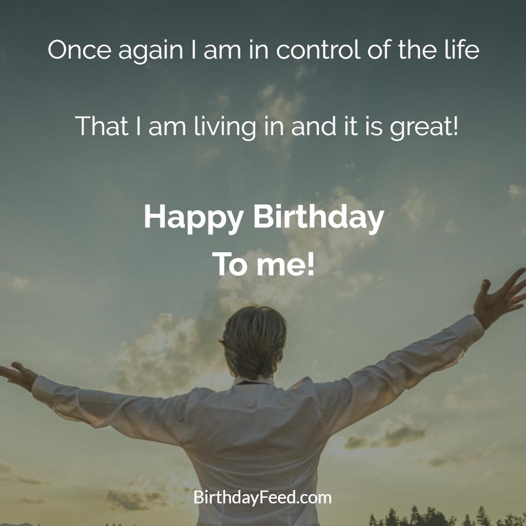 Awe Inspiring How To Wish Myself Happy Birthday On Facebook 30 Best Statues Personalised Birthday Cards Bromeletsinfo