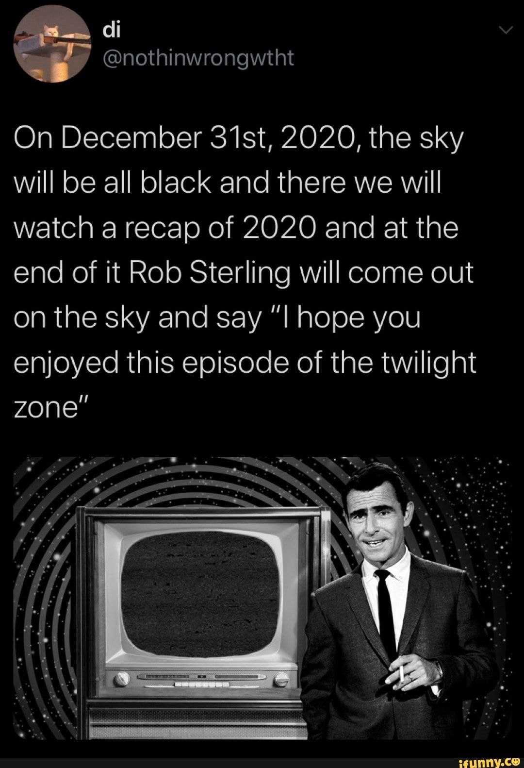 Twilight Zone Meme 2020