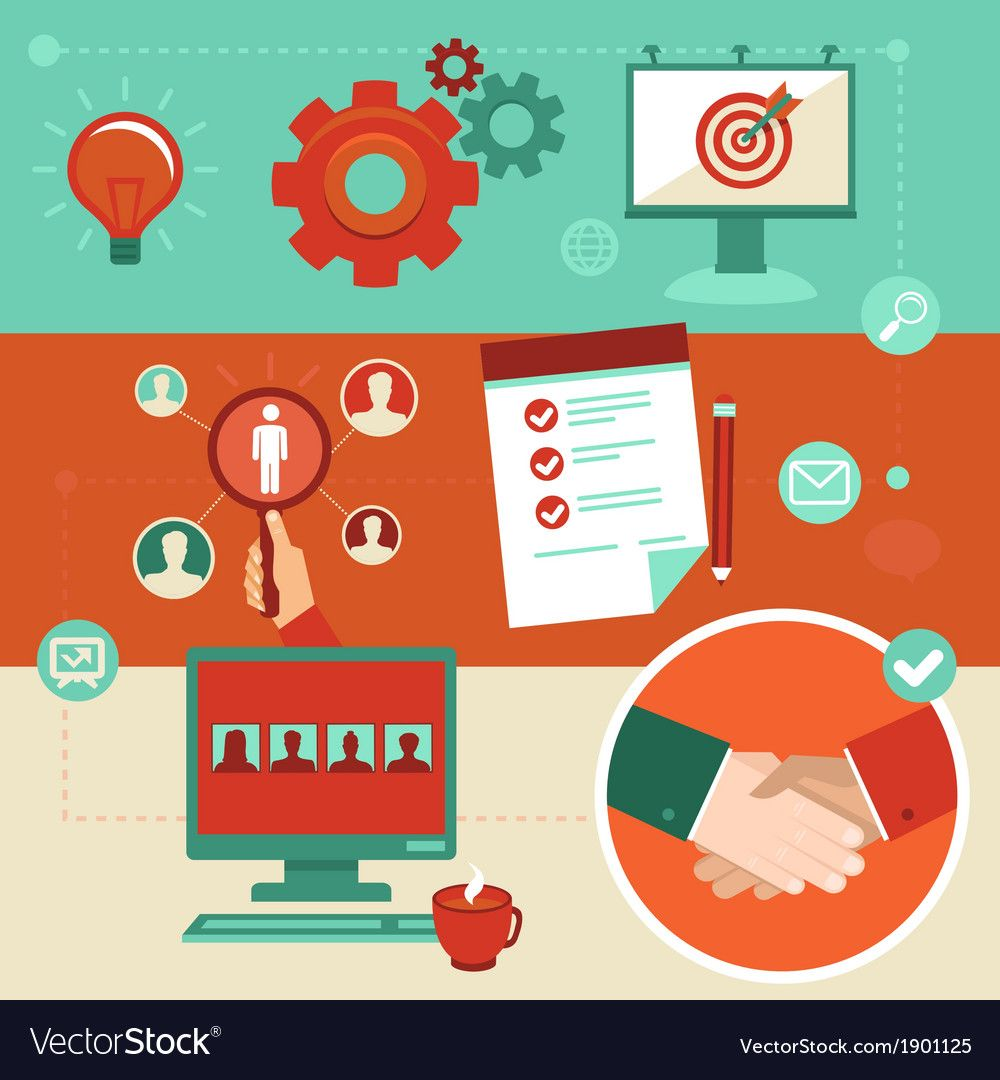 Employment infographics royalty free vector image spon