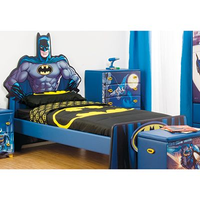 Single Mdf Bed Frame For Kids Batman Photo 1 Kids Bedroom Sets Bedroom Furniture Sets Batman Room