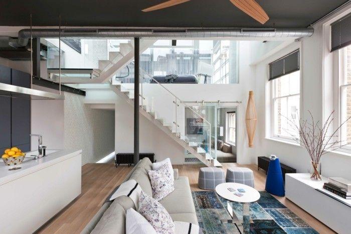 Einrichtungsbeispiele Wohnung loft wohnung einrichtungsbeispiele wohnideen deko ideen offener