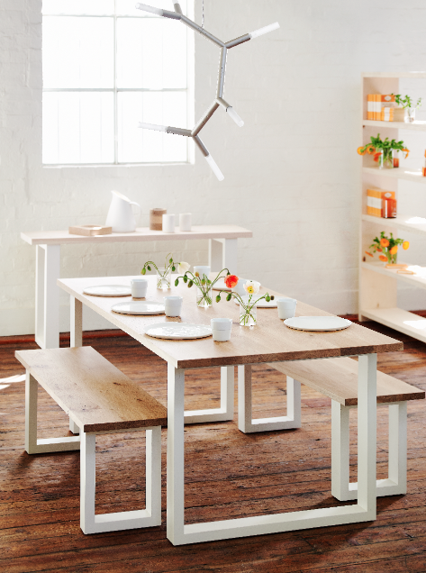 The Mark Tuckey Summer Sale On Now The Interiors Addict Dining Table With Bench Dining Table Dining Table Bench Seat