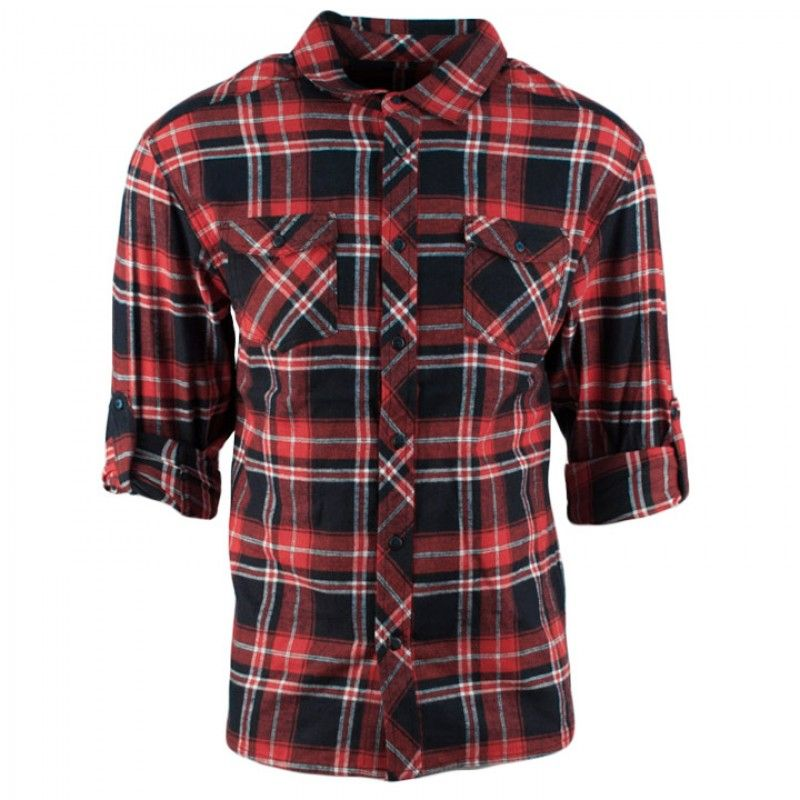 The R.Sole Flannel Button Down is available for 32 on