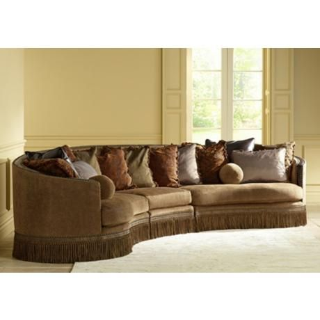 Whitney Barlow Bronze 3 Piece Sectional Sofa Things I