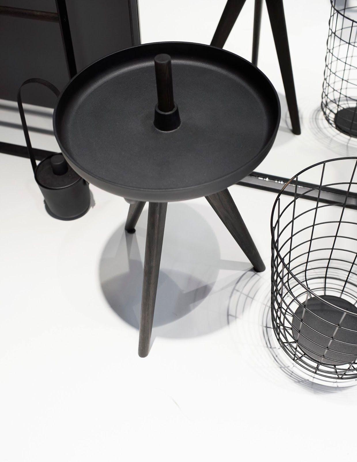 Side Table and Waste Paper Basket - Stockholm Furniture Fair 2014